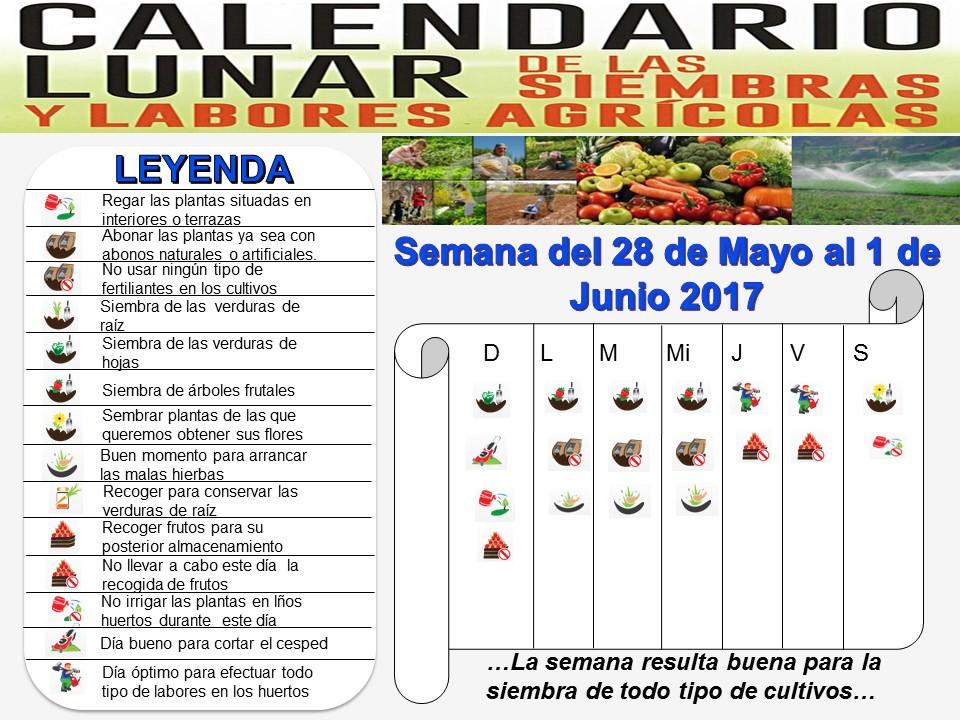 Calendario Lunar Agrícola